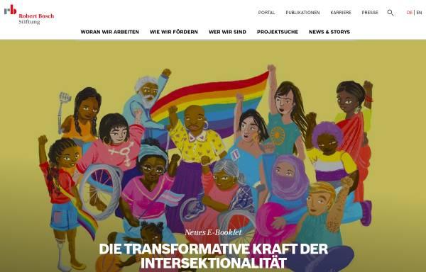 Vorschau von www.bosch-stiftung.de, Robert Bosch Stiftung