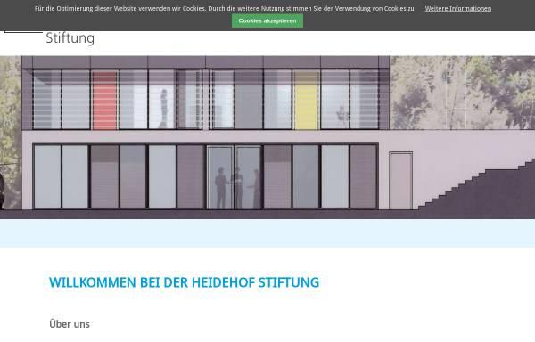 Vorschau von www.heidehof-stiftung.de, Stiftung für Bildung und Behindertenförderung, Stuttgart