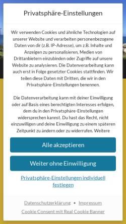 Vorschau der mobilen Webseite www.joern-klein.de, Klein, Jörn
