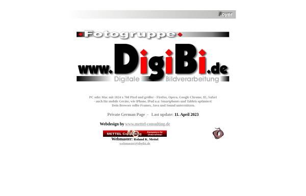 Vorschau von www.digibi.de, DigiBi Fotogruppe