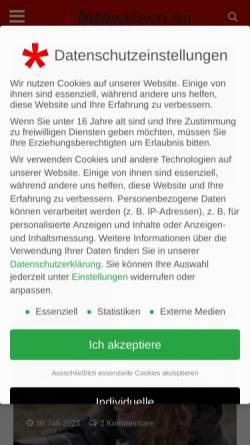 Vorschau der mobilen Webseite www.fotografieren.com, fotografieren.com