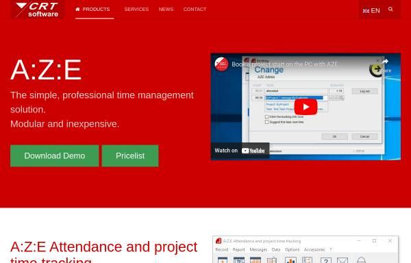 Vorschau von www.crt-software.com, CRT Software
