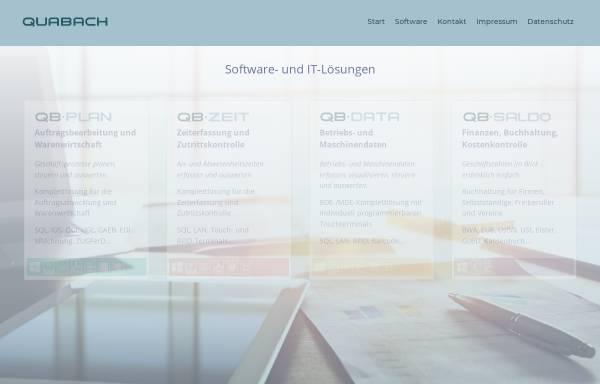 Vorschau von www.quabach.de, Quabach Datentechnik