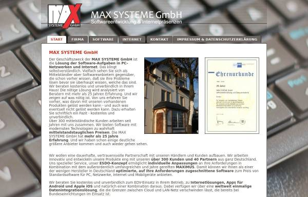 Vorschau von www.iculture.de, Max Systeme GmbH