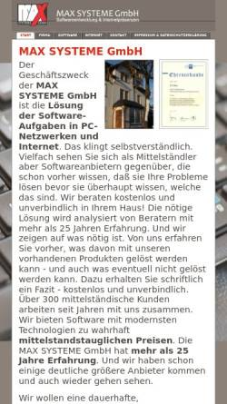 Vorschau der mobilen Webseite www.iculture.de, Max Systeme GmbH