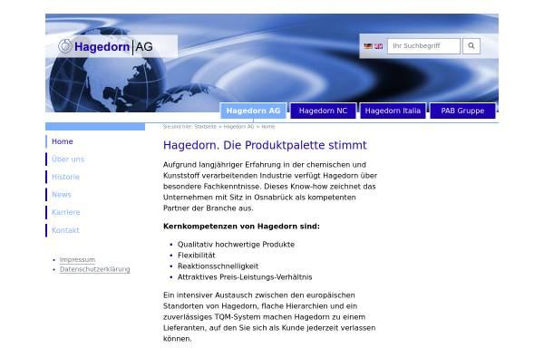 Vorschau von www.hagedorn.de, Hagedorn-Gruppe