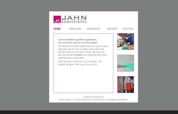 Vorschau von www.jahn-kunststoffe.de, Jahn Kunststoffe e.K.