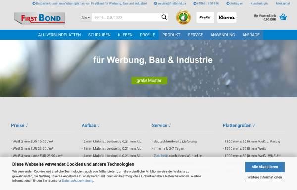 Vorschau von www.firstbond.de, Klas Duggen, Detlef Simon und Hairuo Chen GbR - FirstBond