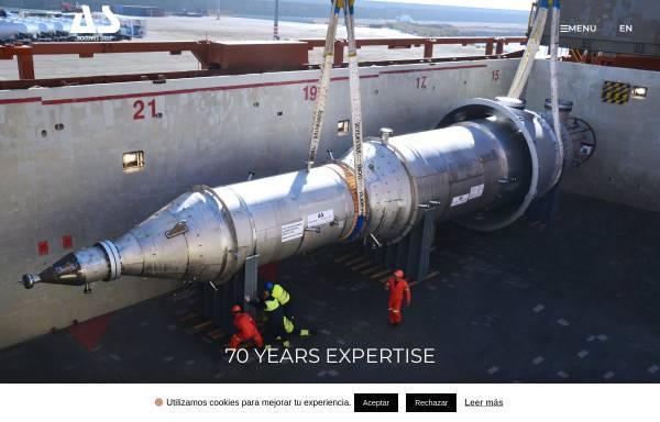 Vorschau von www.aguilarysalas.com, Aguilar y Salas, S.A.