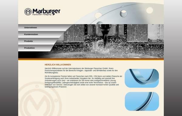 Vorschau von www.marburger-flanschen.de, Marburger Flanschen Fertigung GmbH
