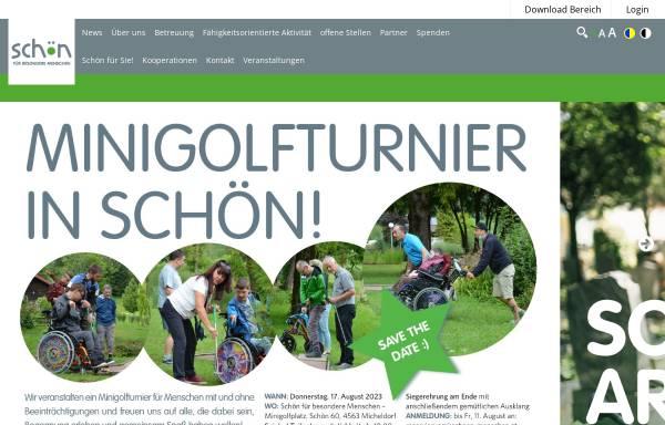 Vorschau von www.schoen-kreuzbichlhof.at, Schön für behinderte Menschen gemeinnützige GmbH