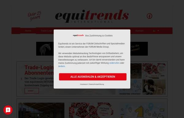 Vorschau von www.equitrends.de, Equitrends