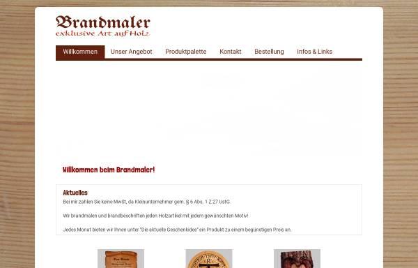 Vorschau von www.brandmaler.at, Atelier Franz Wallner