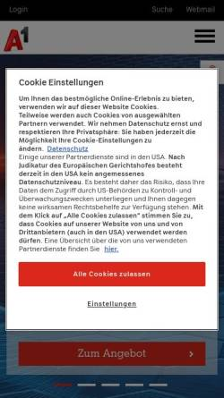 Vorschau der mobilen Webseite members.aon.at, coop4