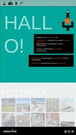 Vorschau der mobilen Webseite www.marbler.com, Grafik Design Marbler