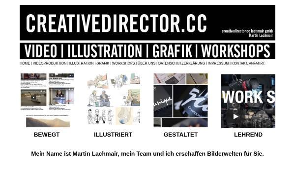 Vorschau von www.creativedirector.cc, Martin Lachmair
