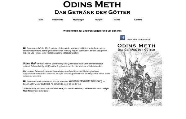 Vorschau von www.odins-met.de, Odins Meth