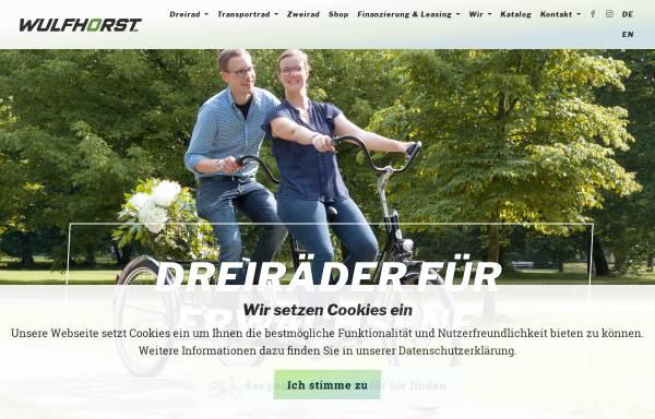 Vorschau von www.wulfhorst.de, Wulfhorst GmbH