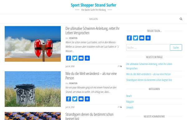 Vorschau von www.sportshopperstrandsurfer.de, Sportshopper
