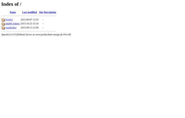 Vorschau von www.yachtschule-navigo.de, Yachtschule Navigo