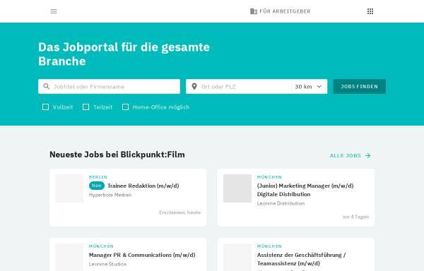 Vorschau von jobs.mediabiz.de, mediabiz-jobs.de