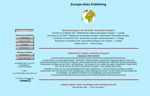 Vorschau von www.energie-atlas.ch, Energie-Atlas