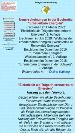 Vorschau der mobilen Webseite www.energie-atlas.ch, Energie-Atlas