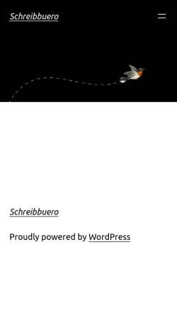 Vorschau der mobilen Webseite www.schreibbuero-bayer.de, Schreibbüro Karin Bayer
