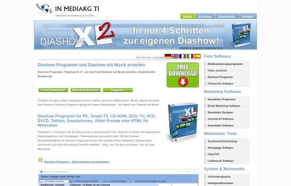 Vorschau von www.mediakg.de, Diashow Pro