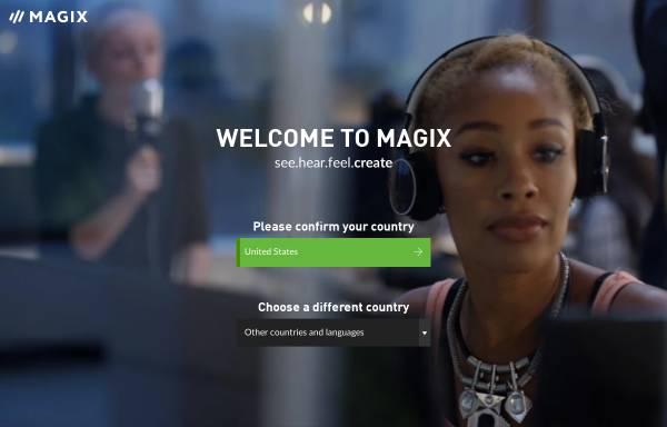 Vorschau von www.magix.net, Magix AG