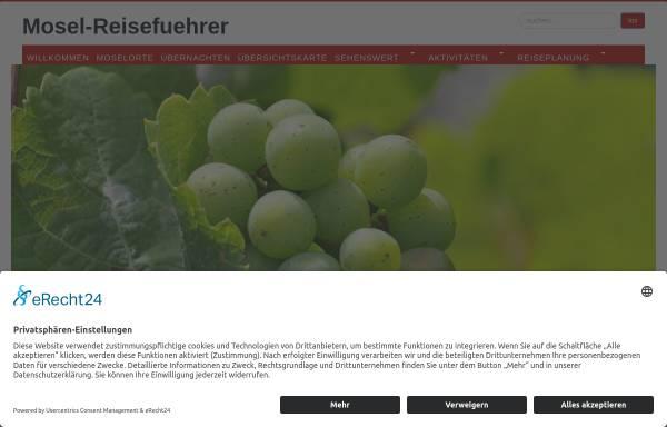 Vorschau von www.mosel-reisefuehrer.de, Mosel-Reisefuehrer