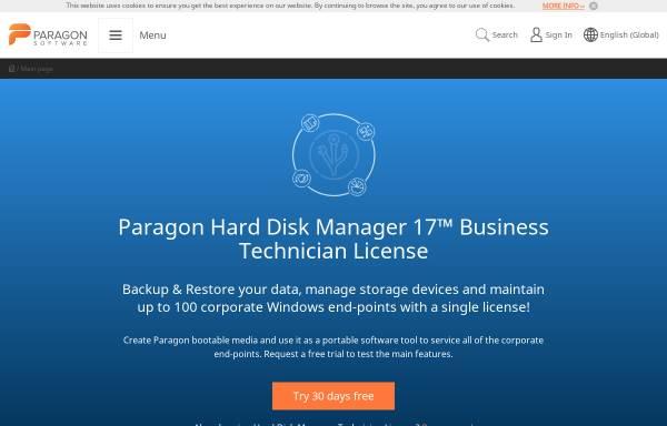 Vorschau von www.cdrom-emulator.de, Paragon Technologie GmbH