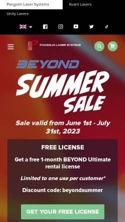 Vorschau der mobilen Webseite www.phoenix-showcontroller.de, Phoenix Showcontroller GmbH & Co. KG.