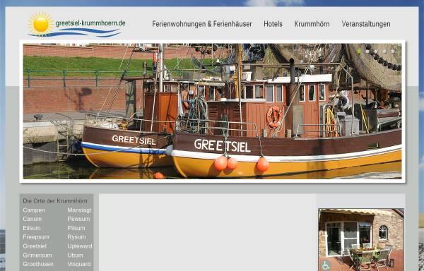 Vorschau von www.kueste-und-inseln.de, Nordsee Infos