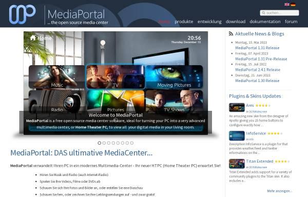 Vorschau von www.team-mediaportal.de, Team MediaPortal