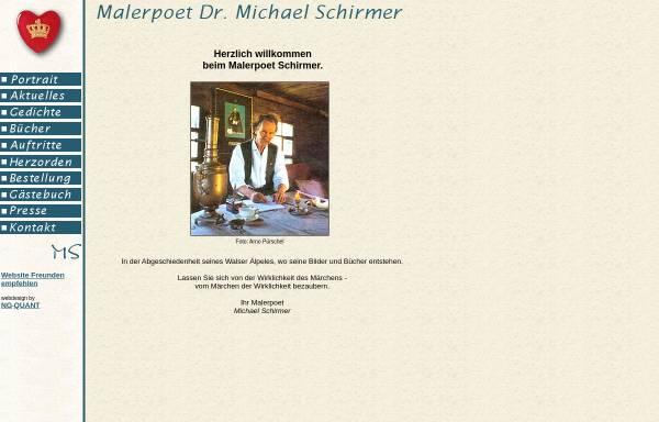 Vorschau von www.malerpoet-schirmer.de, Malerpoet Schirmer
