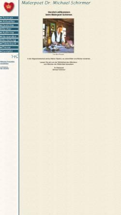 Vorschau der mobilen Webseite www.malerpoet-schirmer.de, Malerpoet Schirmer