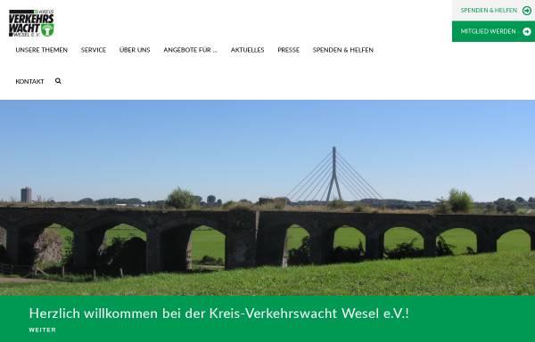 Vorschau von www.kreis-verkehrswacht-wesel.de, Kreis-Verkehrswacht Wesel e.V.