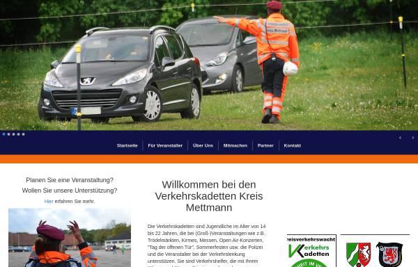 Vorschau von www.verkehrskadetten-mettmann.de, Verkehrskadetten Kreis Mettmann