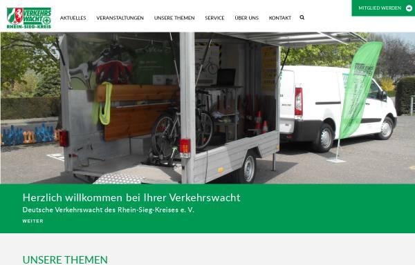 Vorschau von www.verkehrswacht-rhein-sieg.de, Verkehrswacht des Rhein-Sieg-Kreises e.V.