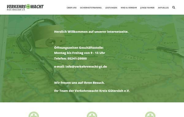 Vorschau von www.vwgt.de, Verkehrswacht Kreis Gütersloh e.V.