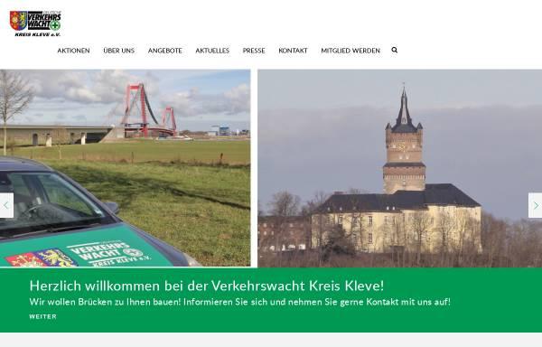 Vorschau von www.verkehrswacht-kleve.de, Verkehrswacht Kreis Kleve e.V.