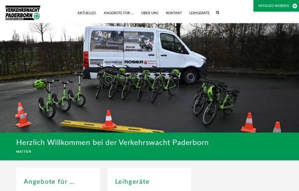 Vorschau von www.verkehrswacht-paderborn.de, Verkehrswacht Paderborn e.V.