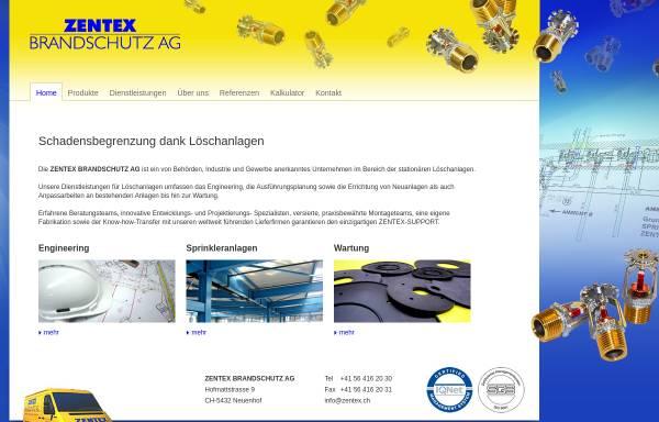 Vorschau von www.zentex.ch, Zentex AG