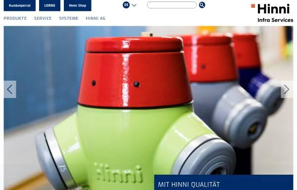 Vorschau von www.hinni.ch, Hinni AG