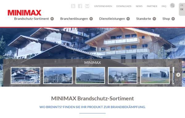 Vorschau von www.minimax.ch, Minimax AG
