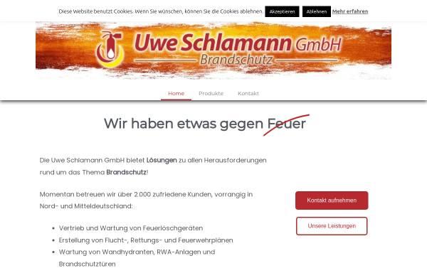Vorschau von www.schlamann-gmbh.de, Uwe Schlamann GmbH