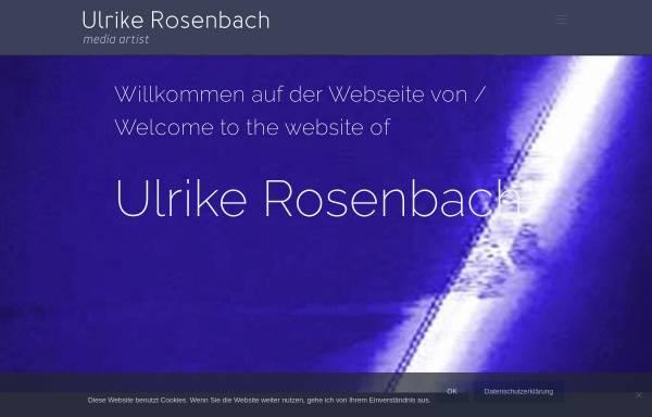 Vorschau von www.ulrike-rosenbach.de, Ulrike Rosenbach