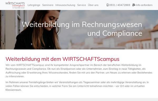 Vorschau von www.frs-steuer.de, Fachakademie für Rechnungslegung und Steuerrecht Dr. Peemöller / Dr. Reis GmbH