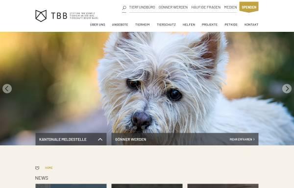 Vorschau von www.tbb.ch, Tierschutz beider Basel